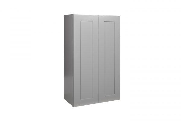 "Gray Shaker 33"" Wall Cabinet"