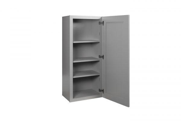 "Gray Shaker 18"" Wall Cabinet"