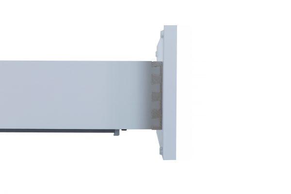 White Shaker Vanity Drawer Base