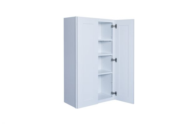 """White Shaker 30"""" Wall Cabinet"""