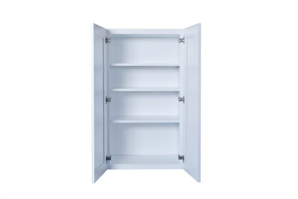 """White Shaker 33"""" Wall Cabinet"""