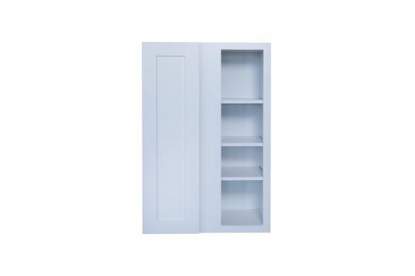 """White Shaker 27"""" Wall Blind Corner Cabinet"""