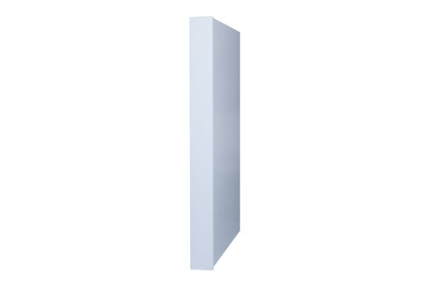 White Shaker Refrigerator Panel