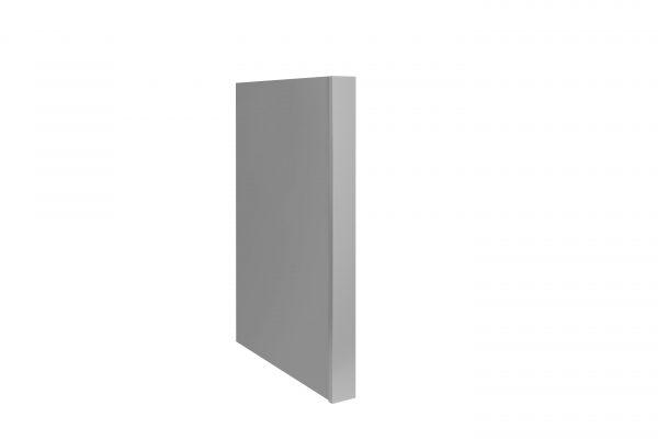 Gray Shaker Dishwasher Panel