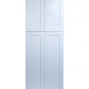 "White Shaker 30"" Pantry / Utility Cabinet"