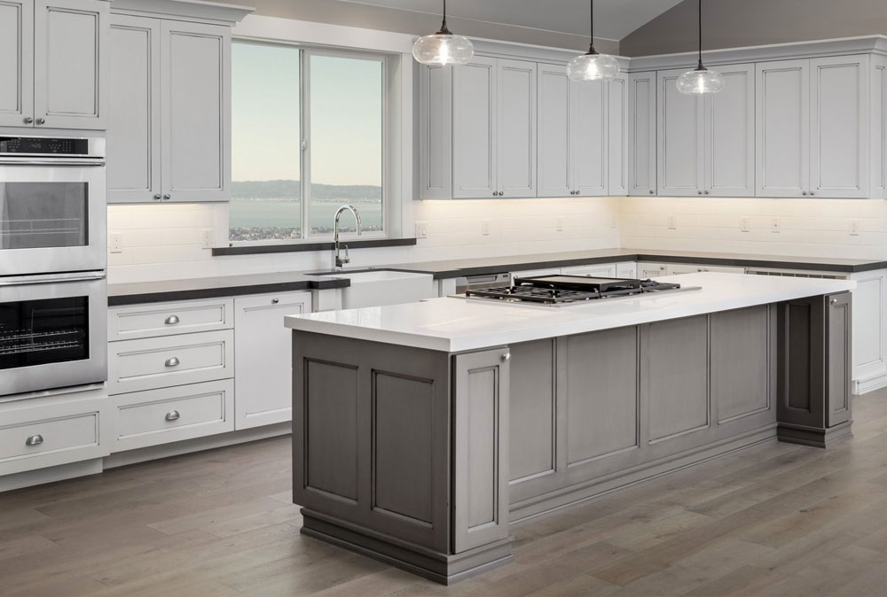 Discounted Gray Shaker Cabinets