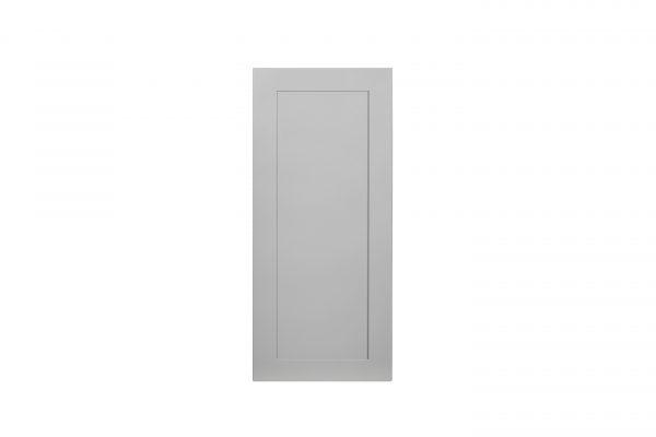 "Gray Shaker 09"" Wall Cabinet"