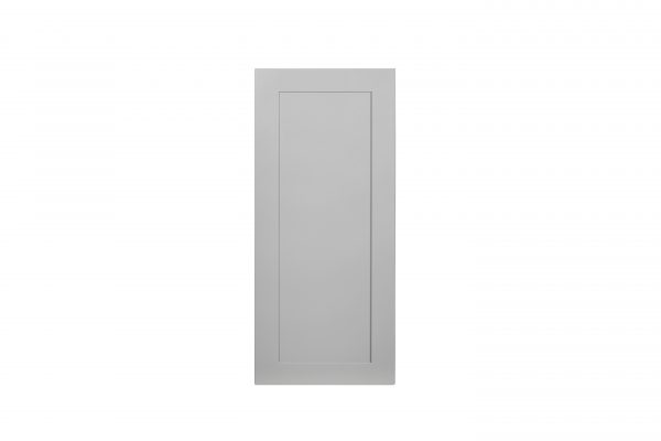 "Gray Shaker 12"" Wall Cabinet"