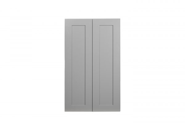 "Gray Shaker 30"" Wall Cabinet"