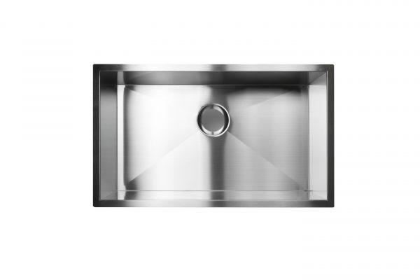 Zero Radius Stainless Steel Sink
