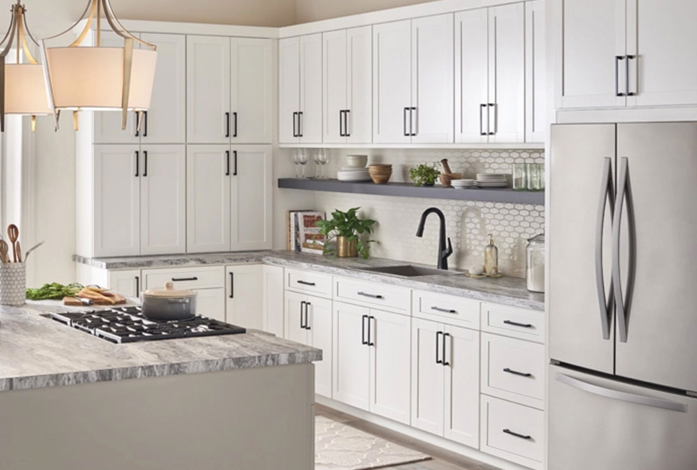 Discounted White Shaker Cabinets